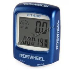 Велокомпьютер проводной ROSWHEEL 81488 14 Функций