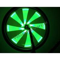 Подсветка на колесо - светящиеся спицы