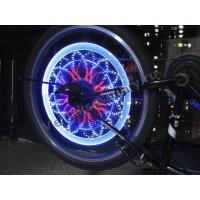 Светодиодный  дисплей-подсветка на колесо 64 светодиода
