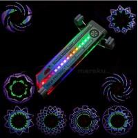 Светодиодный  дисплей - подсветка на колесо 32 светодиода