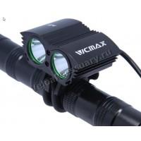 """Велосипедная фара """"Сова"""" Walkefire VCMAX A21 2x XM-L U2 LED 5000 Lm"""