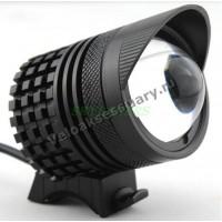 Велосипедная фара 3 CREE XM-L T6 LED Zoom Black