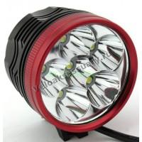 Велосипедная фара 6x CREE XM-L T6 LED