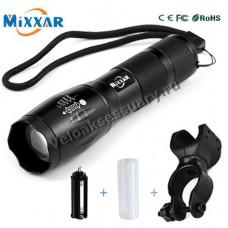 Велосипедный фонарь на светодиоде CREE XM-L- T6\L2 LED 1200 Lm