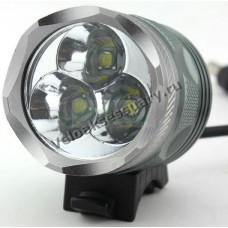 Велосипедная фара CREE XM-L T6 LED 3800 Lm