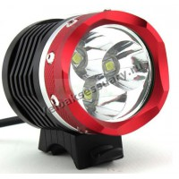 Велосипедная фара 3x CREE XM-L T6 LED 3800 Lm