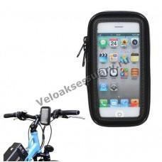 Чехол-сумка для смартфона iPhone 5, 5S, 5C с креплением на руль велосипеда