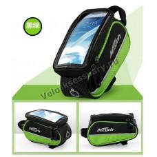 Велосипедная сумка-чехол для смартфонов 4, 4.8 и 5.5 дюймов