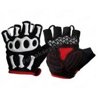 Перчатки велосипедные Skull