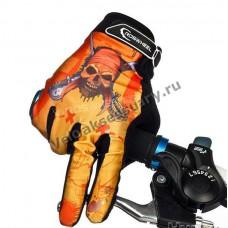 Перчатки велосипедные Roswheel Skull